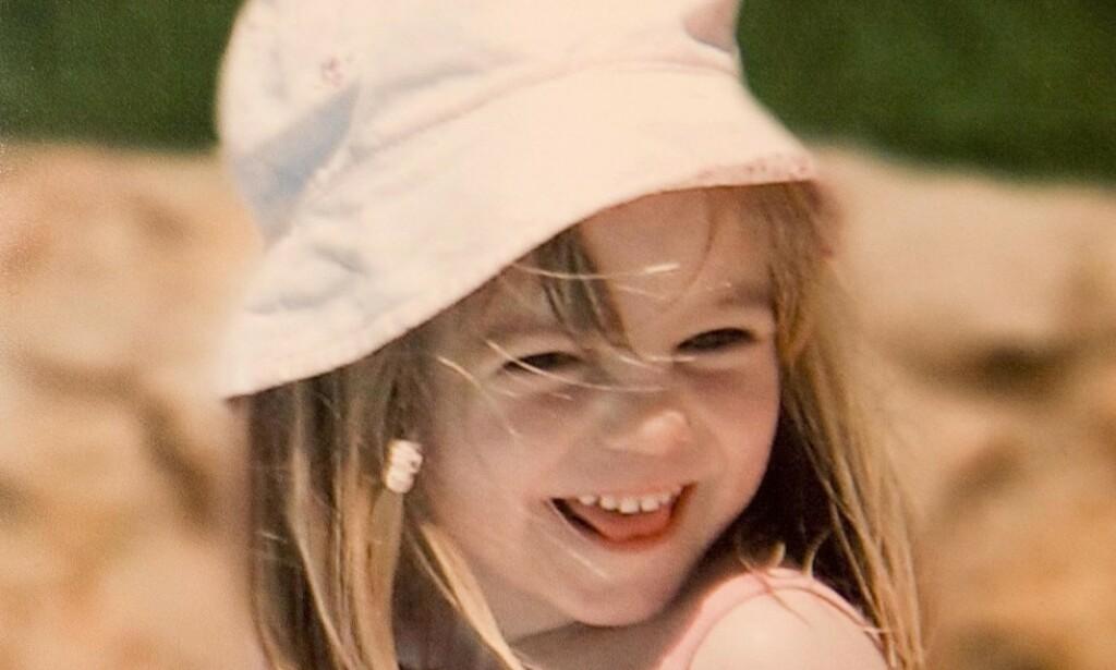 FORSVANT: Madeleine McCann forsvant fra en leilighet på et portugisisk feriested kvelden 3. mai 2007, mens foreldrene var på en tapasrestaurant i nærheten med venner. Foto: NTB Scanpix