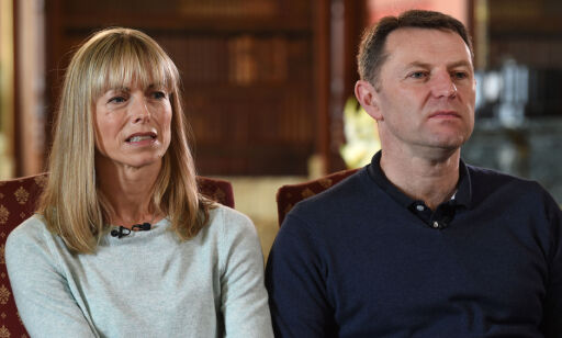 """File photo dated 30/4/2017 of the parents of Madeleine McCann, Kate and Gerry McCann, who ave said the search continues with """"unwavering commitment"""" in a Christmas message to supporters."""