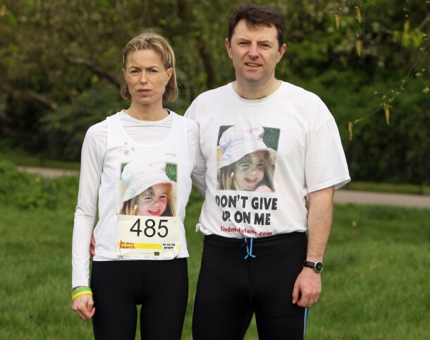 <strong>DATTEREN FORSVANT:</strong> Kate og Gerry McCann mistet datteren Madeleine da hun ble borte fra et feriested i Portugal i mai 2007. Her er foreldrene avbildet i 2011. Foto: AFP/ NTb scanpix