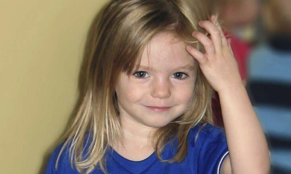 <strong>FORSVANT:</strong> Madeleine McCann forsvant fra en leilighet på et portugisisk feriested kvelden 3. mai 2007, mens foreldrene var på en tapasrestaurant i nærheten med venner. Nå er det kommet noe opplysninger i saken. Foto: NTB Scanpix