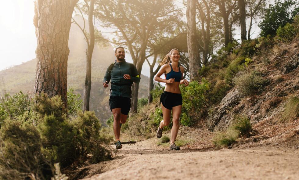 FÅ PEKSPERTRÅD :Mange pådrar seg skader på grunn av løping, og spesielt de som har hatt en lengre pause, eller som plutselig øker mengden løpeøkter vesentlig. Foto: NTB Scanpix