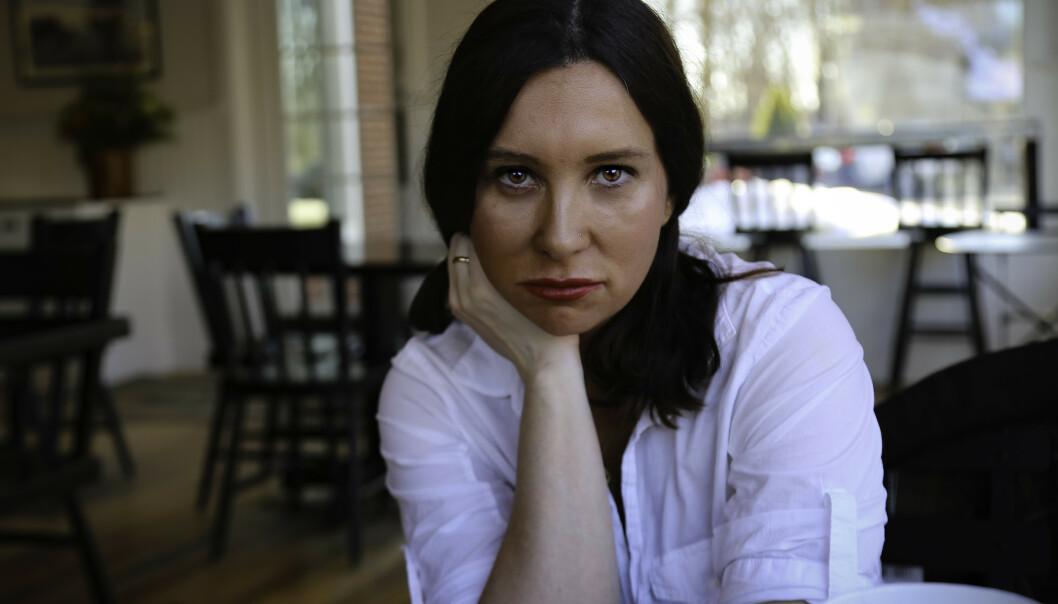 SNAKKIS: Amerikanske Lisa Taddeo jobbet med dokumentarboka om kvinners seksualitet i åtte år, og har fått svært mye oppmerksomhet for den i USA. Foto: ASCHEHOUG / J. WAITE