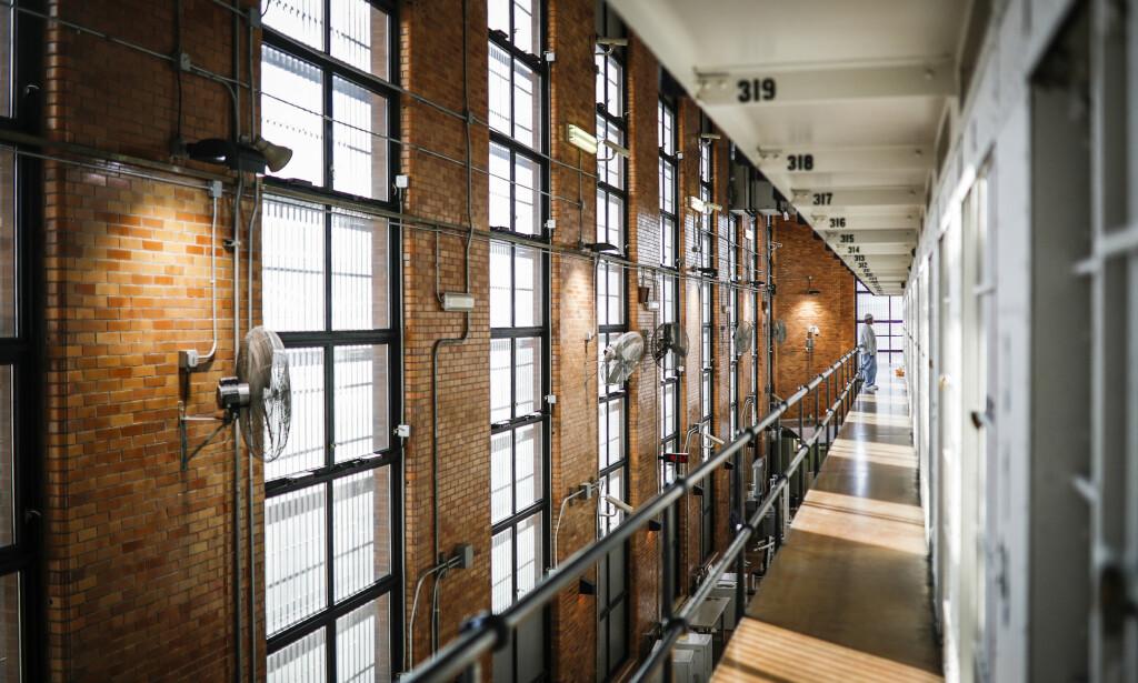 HØYSIKKERHETSFENGSEL: Minnesota Correctional Facility i Stillwater i Minnesota huser noen av USAs mest voldelige fanger, og har sikkerhetsnivå fem - høyeste nivå. Drapssiktede Derek Chauvin er plassert her i påvente av at han skal møte i retten. Foto: AP Photo / John Minchillo / NTB scanpix