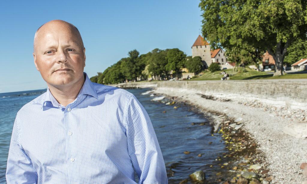 REGIONSDIREKTØR: Peter Lindvall mener ferieøya Gotland står overfor et dilemma i sommer. Foto: Karl Melander
