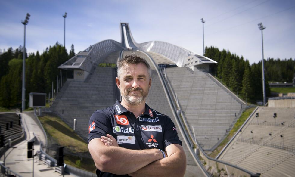 ØNSKER HANDLING: Sportssjef Clas Brede Bråthen vil at Holmenkollen skal bli en helårsbakke fortest mulig. Foto: Lars Eivind Bones