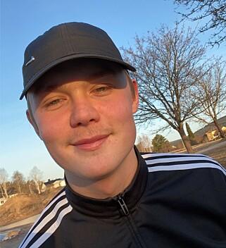 Emil Idh omkom i ulykken utanfor Sörfors i Sverige. Han ble 16 år. Foto: Privat