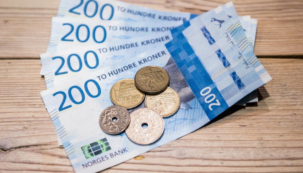 <strong>RENTA:</strong> SSB spår at vi får rekordlav rente i flere år framover. Foto: Jon Olav Nesvold / NTB scanpix