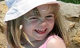 "An undated handout photograph released by the Metropolitan Police in London on June 3, 2020, shows Madeleine McCann who disappeared in Praia da Luz, Portugal on May 3, 2007. - German police said Wednesday they have identified a new suspect in the mysterious disappearance of British girl Madeleine McCann in 2007. ""In connection with the disappearance of the then three-year-old British girl Madeleine Beth McCann..., the Braunschweig public prosecutor's office is investigating a 43-year-old German citizen on suspicion of murder,"" said federal police in a statement. (Photo by Handout / METROPOLITAN POLICE / AFP) / RESTRICTED TO EDITORIAL USE - MANDATORY CREDIT ""AFP PHOTO / METROPOLITAN POLICE "" - NO MARKETING NO ADVERTISING CAMPAIGNS - DISTRIBUTED AS A SERVICE TO CLIENTS"