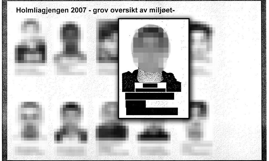 PÅ POLITIETS RADAR: Den antatte lederen av den kriminelle gjengen Young Bloods dukket opp på politiets lister allerede i 2007. Foto: Politiet.