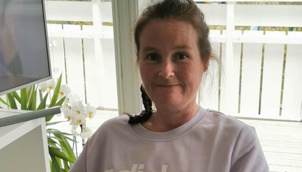 RAMMET AV ALS: Det er fire år siden Vivian Brosvik fikk diagnosen ALS og livet ble snudd fullstendig på hodet. FOTO: Privat