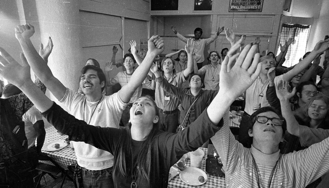 STERKE BESKYLDNINGER: I den kristne sekten Children of God levde voksne og barn side om side, og flere har siden beskyldt sekten for å legge til rette for pedofili og overgrep. FOTO: NTB Scanpix