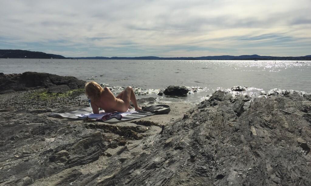 Badeklar: Det er klart for en ny badesommer. Kast klærne dersom du vil. Foto: Odd Roar Lange/The Travel Inspector