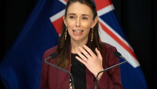 NEW ZEALANDS STATSMINISTER: Jacinda Ardern. Foto: Scanpix