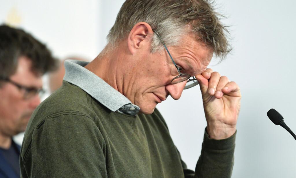 STOR OPPMERKSOMHET: Statsepidemiolog Anders Tegnell stiller seg noe undrende til den voksende internasjonale oppmerksomheten rundt den svenske smittevernmodellen. Foto: Anders Wiklund / TT / NTB Scanpix