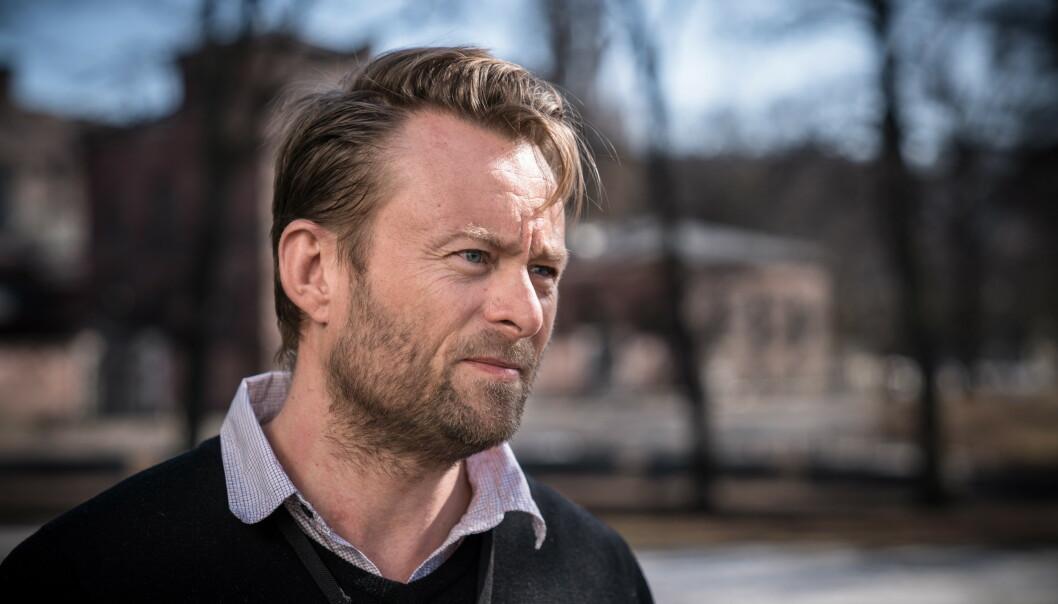 FØGER UTVKLINGEN: Anders Rasch-Olsen er sjef for politiets avdeling for spesielle operasjoner i Oslo. Foto: Øistein Norum Monsen/Dagbladet