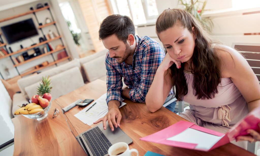 TENK DEG NØYE OM: Skal du hjelpe partneren økonomisk, bør dere ha en skriftlig avtale, råder ekspertene. Foto: NTB scanpix