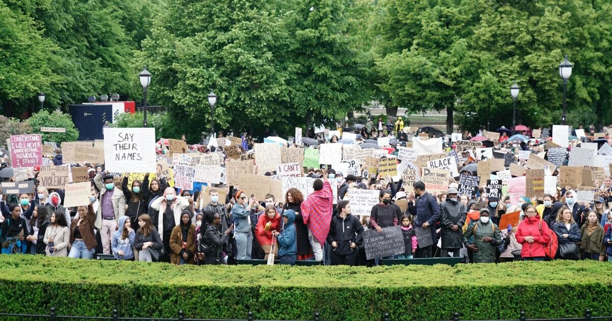 15 000 demonstranter i Oslo
