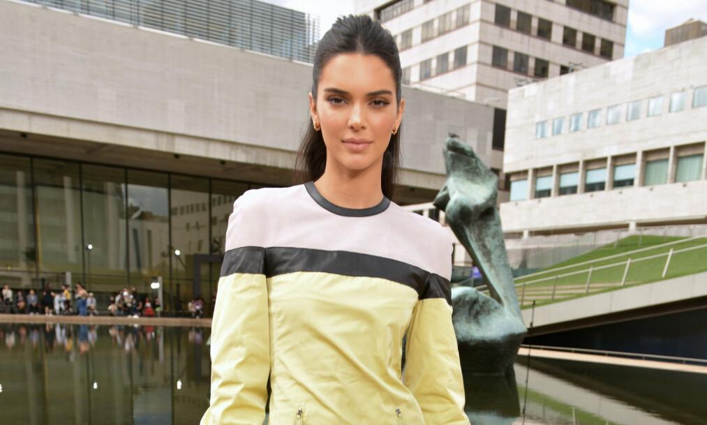 KRITISERES: Kendall Jenner får krass kritikk av fansen i kjølvannet av George Floyd-saken. Foto: NTB Scanpix