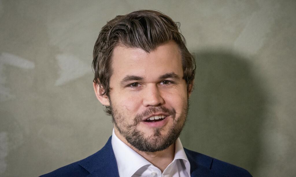 GOD START: Magnus Carlsen har kommet godt i gang i kvartfinalen i utslagsturneringen Clutch International. Foto: Heiko Junge / NTB scanpix