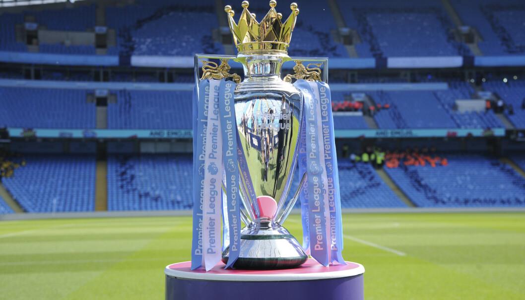 CORONAVIRUS: Det virker stadig sikrere at kampen om Premier League-trofeet snart er i gang igjen. Det var ingen positive prøver da sjette runde med virustester ble gjennomført de siste dagene. Foto: Rui Vieira, AP / NTB scanpix