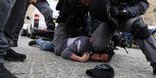 image: USA-politi i lære hos israelerne