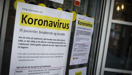 Ansatt ved nyfødtintensiv i coronasmittet - innlagte familier isolert