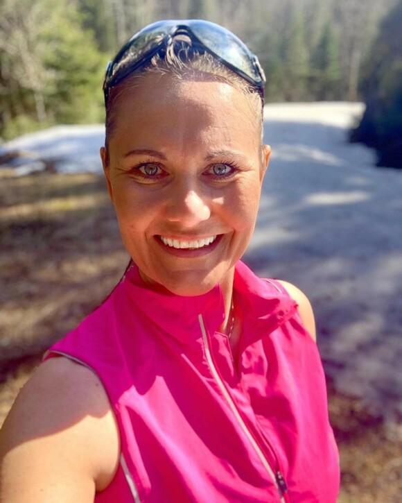 UTETRENING FOR ALLE: - Det å kombinere trening med frisk luft er noe mange setter pris på, mener personlig trener Elisabeth Rolsdorph. Foto: Privat