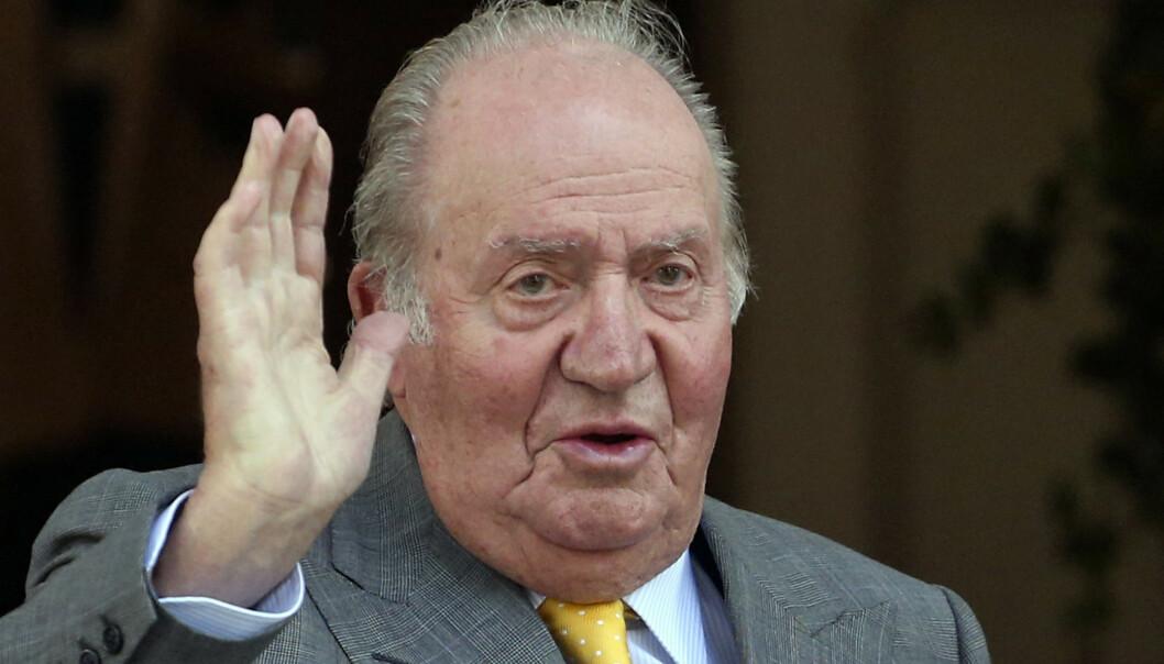 ETTERFORSKES: Tidligere kong Juan Carlos etterforskes av domstolen i Spania. Foto: NTB Scanpix