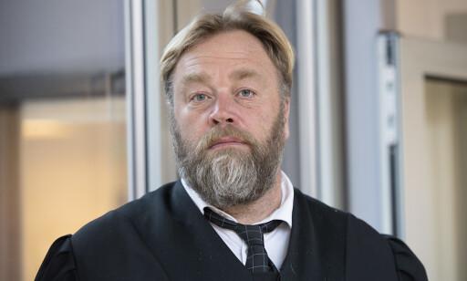 FORSVARER DEN ELDSTE: Jon Anders Hasle forsvarer den eldste siktede, en mann i 30-åra. Foto: Marit Hommedal / NTB Scanpix