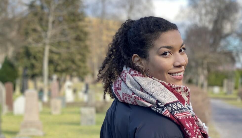 ANTIRASISME: - Da jeg var lita var det ikke alltid jeg skjønte at det var rasisme jeg møtte, sier NRK-profil Sissel-Alice Refsdal til KK. FOTO: Per Elling Sylte