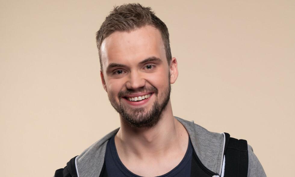 IKKE LENGER SINGEL: André Johansen, som deltok i «Jakten på kjærligheten» i 2019, avslører at han har fått kjæreste. Foto: TV 2