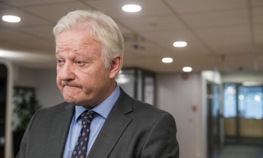TILLIT: Riksadvokat Jørn Sigurd Maurud har full tillit til etterforskningen og de som jobber med den. Foto: Terje Pedersen / NTB scanpix