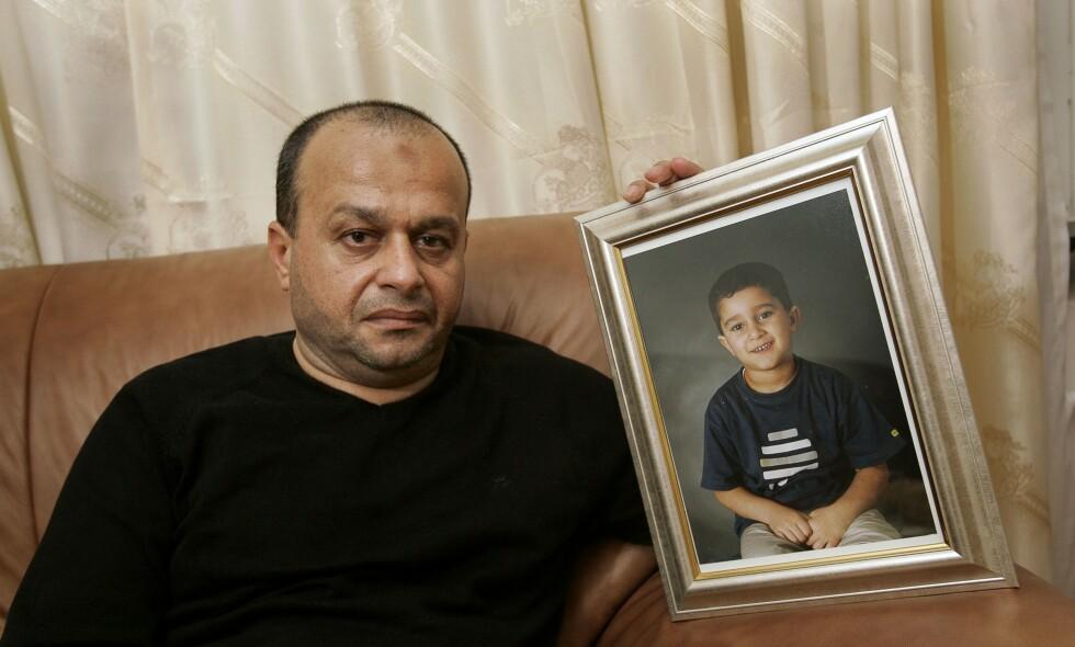 ENDELIG SVAR: Hassan Ammouri mistet sønnen sin for 16 år siden. Foto: Svein Lindwall / Expressen