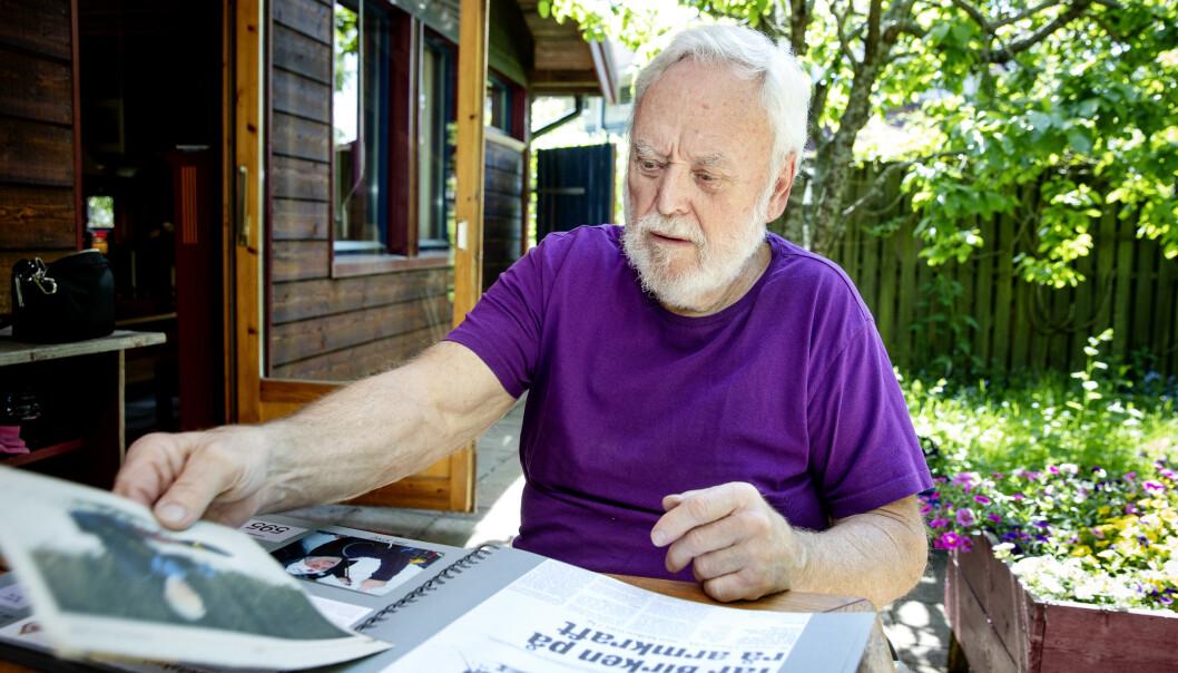 VERDENSREKORD: Karl Henrik Seemann har pigget Birken seks ganger. Tre ganger har han gjort Halvbirken. Foto: Nina Hansen