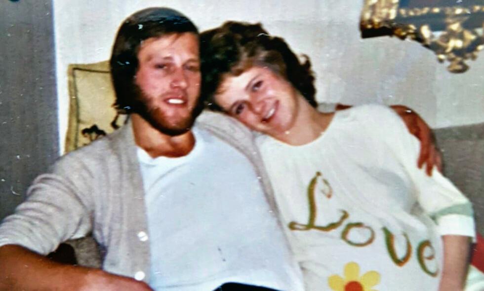 EKTEPAR: Tom Hagen og Anne-Elisabeth Hagen var gift i 49 år før hun forsvant 31. oktober 2018. Nå er ektemannen siktet for drapet på henne. Foto: Privat
