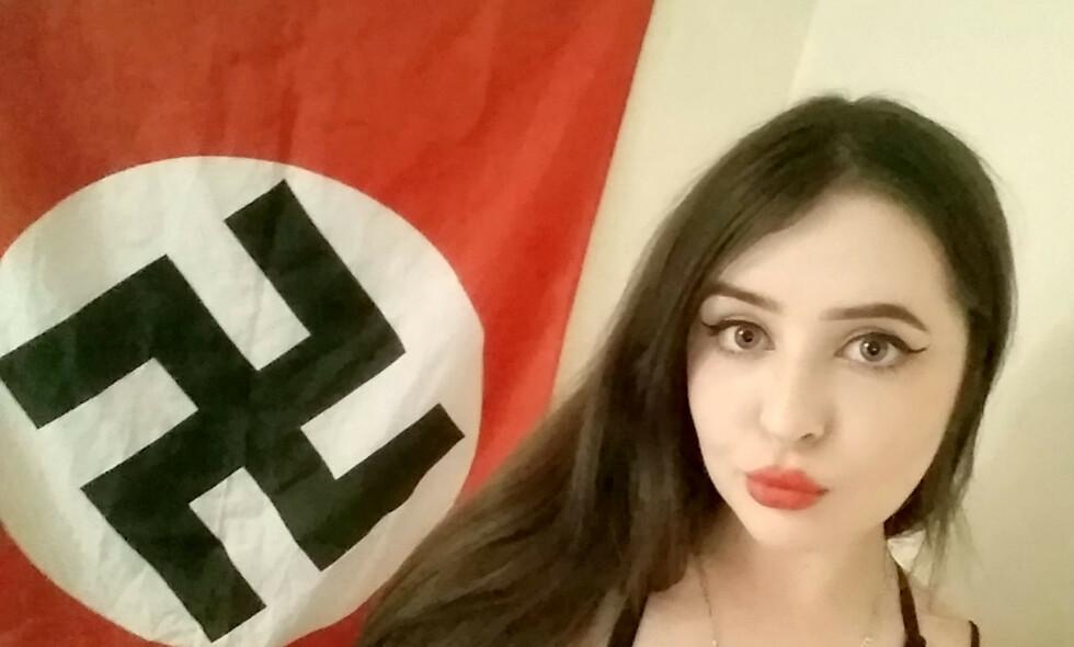 DØMT: Alice Cutter (23) er dømt for å være med i terrorgruppa National Action. Foto: SWNS / NTB Scanpix