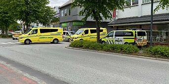 image: Væpnet politiaksjon etter knivstikking i Sandnes