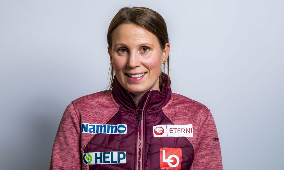 I OVERKANT SPENNENDE: Line Jahr har vært en profil i hoppmiljøet i mange år. Først som hopper, i dag som trener. Nå risikerer hun å miste jobben. Foto: Håkon Mosvold Larsen / NTB scanpix