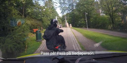 image: Dramatisk jakt på svenske sjokkranere i Oslo