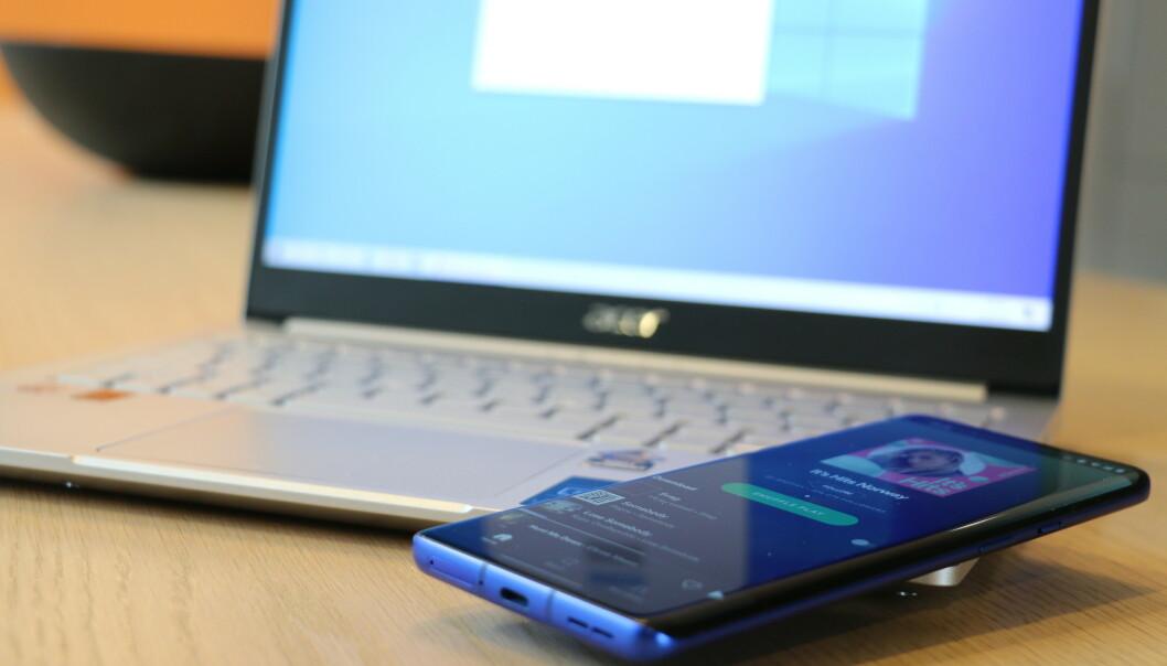 <strong>BLUETOOTH A2DP SINK:</strong> Nå kan du bruke PC-ens høyttalere som Bluetooth-høyttalere for mobilen din. Foto: Martin Kynningsrud Størbu