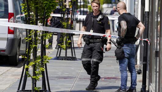 Døde etter knivstikking: Politiet har video av hendelsen