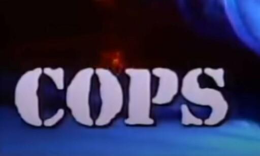 KJENT LOGO: «Cops» er blitt sendt siden 1989. Foto: Skjermdump / Paramount Network / YouTube