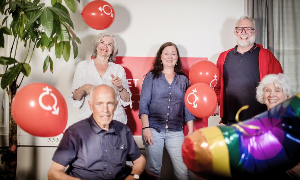JUBILEUM: Sex om samfunn fyller 50 år i 2021. Leger fra Sosialistiske legers forening som var med på oppstarten av Sex og samfunn, som på den tiden het Klinikk for seksuell opplysning.