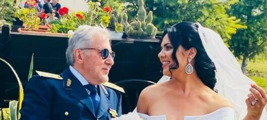 Tennislegende (73) gift for femte gang