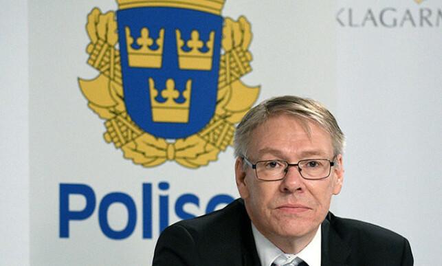 SLAKTER: Statsadvokat Krister Petersson mener det er uforståelig at Palme-etterforskerne ikke etterforsket Stig Engström i 1986. - Jeg hadde pågrepet og siktet ham, sier Petersson som nå legger ned etterforskningen etter 34 år. Foto: Thomas Carlgren, TT / NTB Scanpix