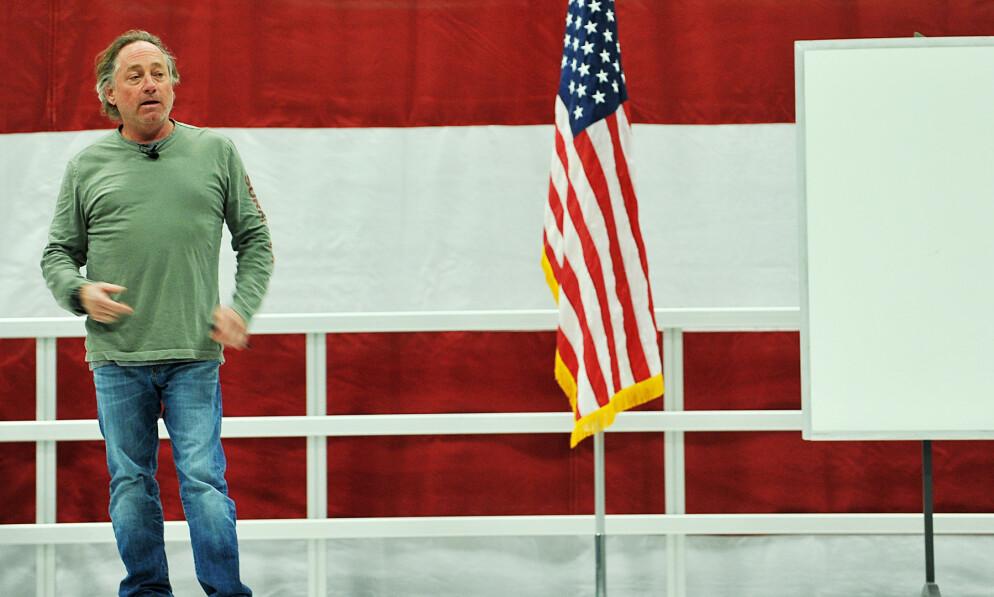 GIR SEG: Greg Glassman trekker seg som administrerende direktør for CrossFit, etter at han har havnet i hardt vært. Foto: US Air Force