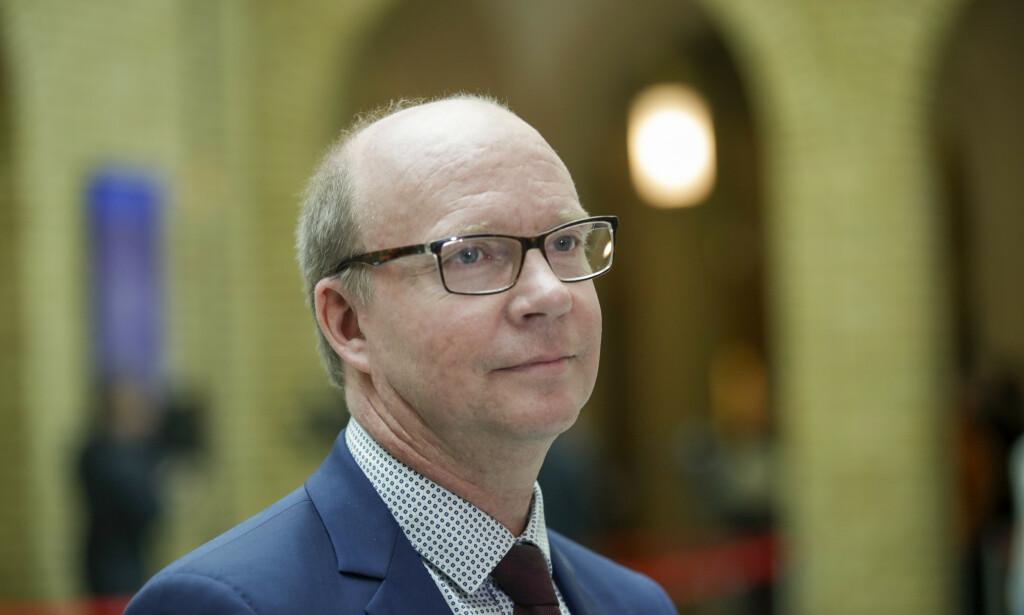 SKUFFET: Ketil Kjenseth (V) savner at SV blir med i de tøffe forhandlingene i stedet for å trekke seg. Foto: Vidar Ruud / NTB Scanpix
