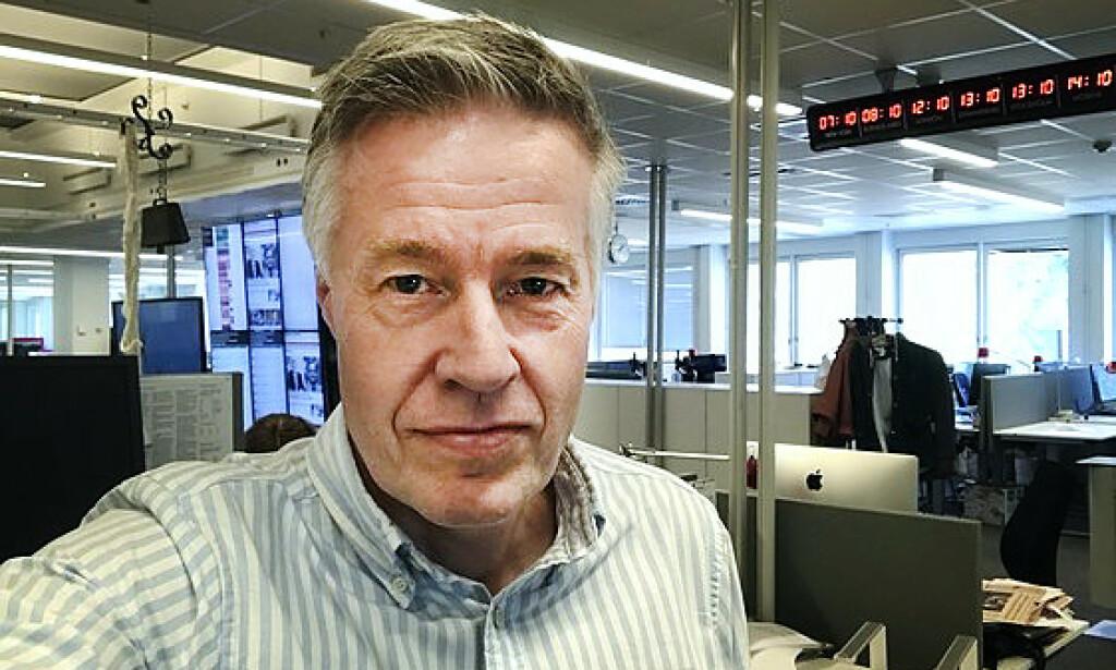 BEVIS: Journalist Lars Näslund i avisa Dagnes Nyheter hadde forventet nye konkrete bevis. - Jeg hadde trodd at etterforskningsledelsen ville lagt fram bevis, som knyttet Stig Engström til drapet, sier Lars Näslund. Foto: Dagens Nyheter