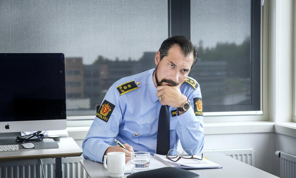 UTFALL: Påtaleansvarlig Haris Hrenovica i Øst politidistrikt har ved to anledninger gått ut mot drapssiktede Tom Hagen i pressen. Foto: Henning Lillegård / Dagbladet