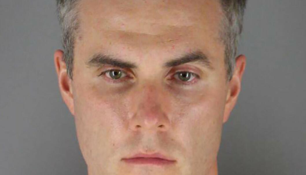 Thomas Lane, av de fire polititjenestemennene som er siktet for drapet på George Floyd, har betalt kausjon og er løslatt fra varetekt i USA. Foto: Hennepin County Sheriff's Office / AP / NTB scanpix